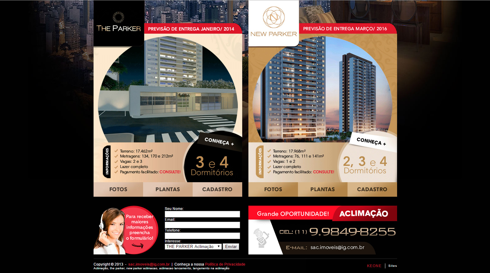 newparker-aclimacao